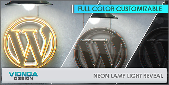 Previewae project-aftereffects template-vidnoa-neon-free-royality-color-lamp-light-electric-switch