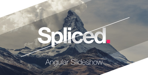 Spliced Angular Slideshow VH Prev