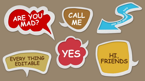 Speech Bubbles Image Preview