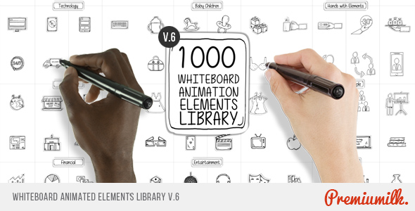 Whiteboard_Animated_Elements_Library_590x300