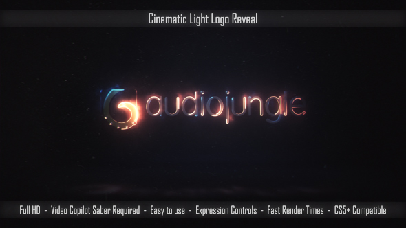 Cinematic Light Logo Reveal previewimage