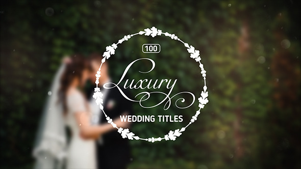 Luxury Wedding Titles - MainPreview_590x332