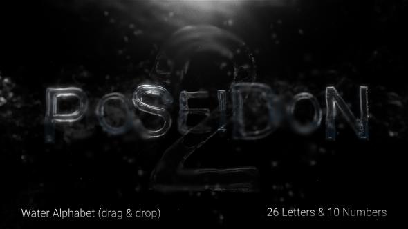 Poseidon 2 Water Alphabet 2
