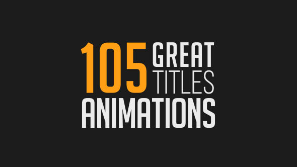 105 Great Title Animations_Preview Image_00000
