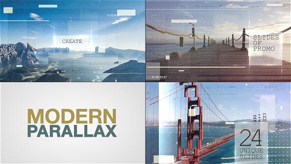 Modern Parallax Slideshow 590x332