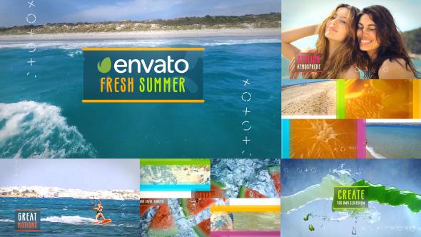 Stylish Summer Slides Slideshow 590x332