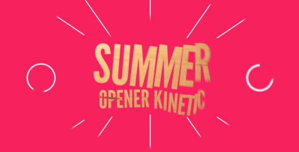 Summer Opener Kinetic 590x300