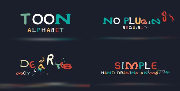 toon-alphabet