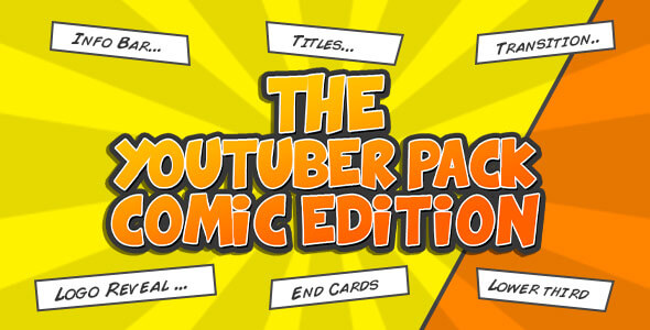 youtuber-comic-pack