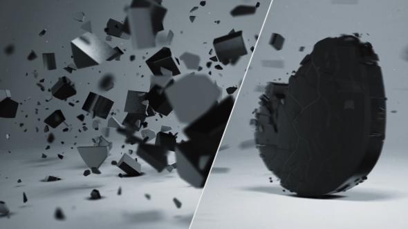 elegant-3d-shatter-logo-image-preview
