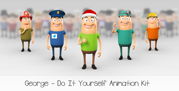 George – Character Animation DIY Kit – Project for After