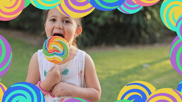 Summer Children's Transitions Pack – After Effects Template