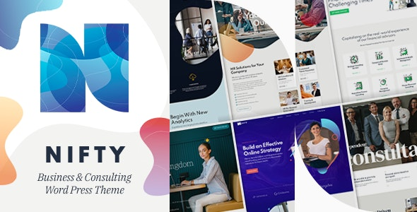 NULLED Nifty v1.0.6 - Business Consulting WordPress Theme
