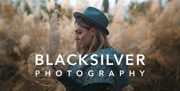 NULLED Blacksilver v8.5.3 - Photography Theme for WordPress