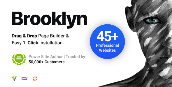 NULLED Brooklyn v4.9.6.6 - Creative Multi-Purpose Responsive WordPress Theme