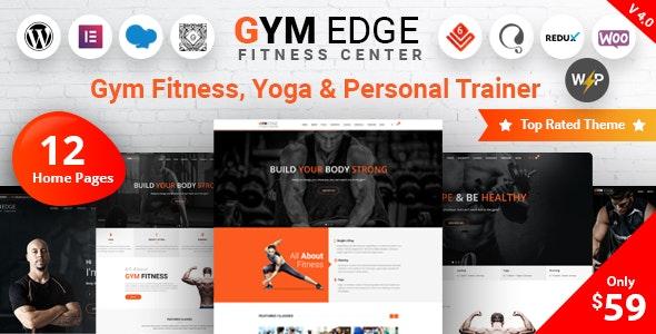 NULLED Gym Edge v4.2.2 - Gym Fitness WordPress Theme
