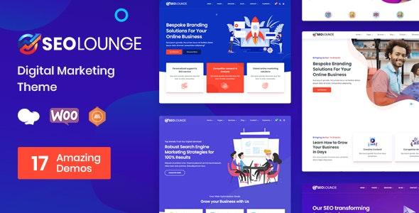 NULLED SEOLounge v3.0.2 - SEO Agency WordPress Theme