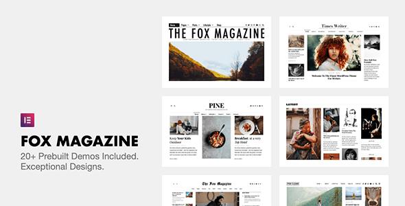 NULLED The Fox v4.6.7.1 - Minimal WordPress Blog Magazine Theme