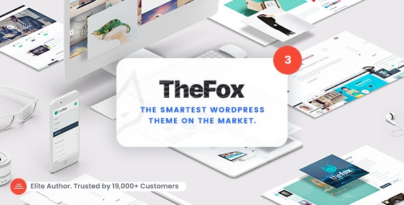 NULLED TheFox v3.9.9.9.19 - Responsive Multi-Purpose WordPress Theme